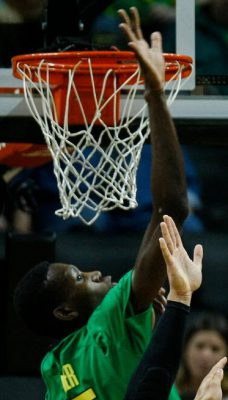 Here is our Swatterboy, Chris Boucher!