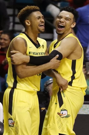 Tyler Dorsey and Dillon Brooks may have the last laugh?