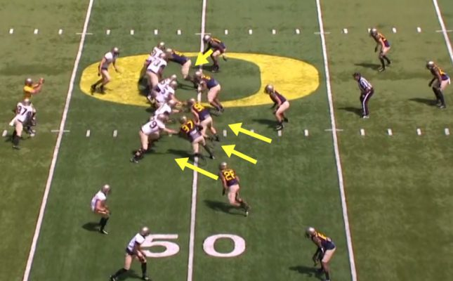 Oregon DID do some blitzing!