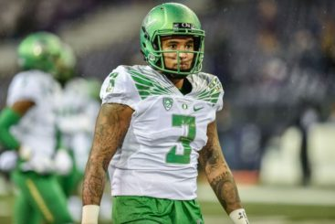Helfrich saw the need for help at the QB position and brought in Vernon Adams last year.