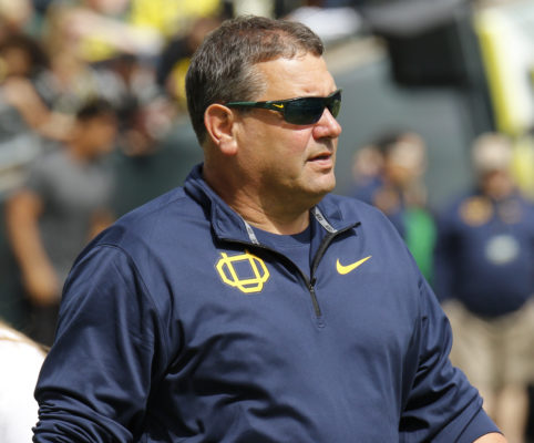 New defensive coordinator Brady Hoke is in Eugene to bring swagger back to the Oregon D