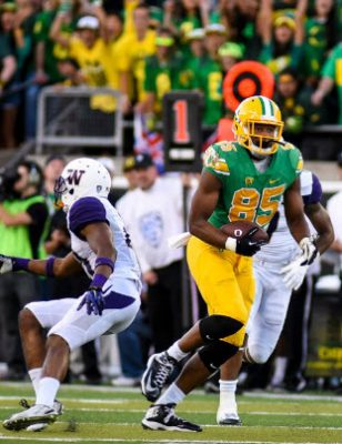The unstoppable force of Pharaoh Brown rejoins the Oregon Offense.