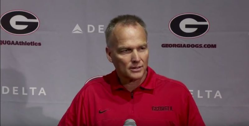 Mark Richt was at Georgia from 2001-2015.