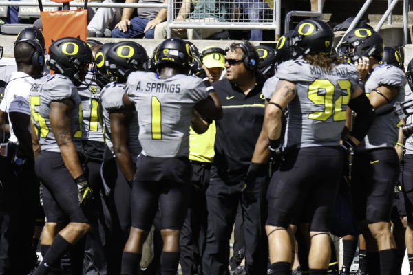 Highly touted recruit Arrion Springs and under-the-radar recruit Henry Mondeaux anchor Oregons defense
