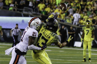 The improbable catch by Devon Allen