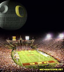 The Duck Death Star came often to the Coliseum and wreaked havoc.
