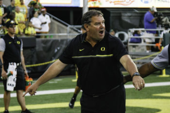 Brady Hoke is under a lot of pressure to turn around the Oregon defense