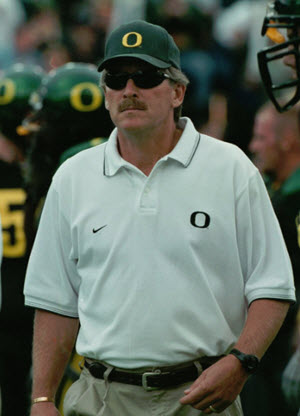 Mike Bellotti built and rescued the program.