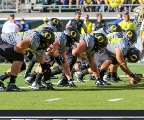 A young offensive line provides hope for a bright future.
