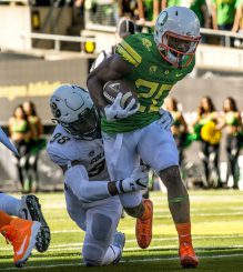 Tony Brooks-James has shown that hes the next in a long line of great Oregon running backs.