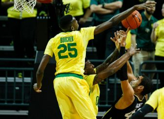 Arizona is the toughest competition for Oregon in their quest to repeat as conference champions.