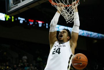 Duck fans can look forward to a lot of dunks like this.