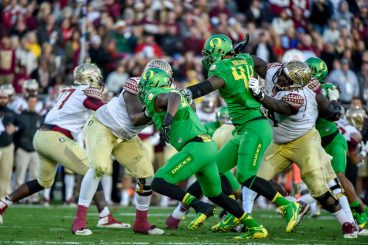 The Ducks were plenty motivated against Florida State in the Rose Bowl -- and it wasnt because of the great Chip Kelly pep talk two years before.