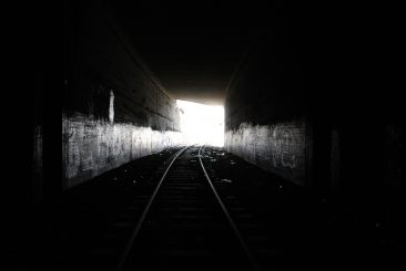 There is always light at the end of the tunnel...if you go far enough
