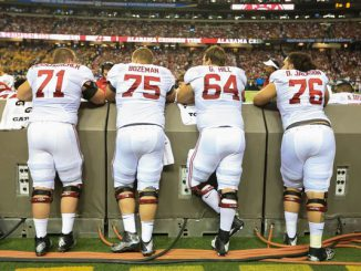 Alabama Offensive Line