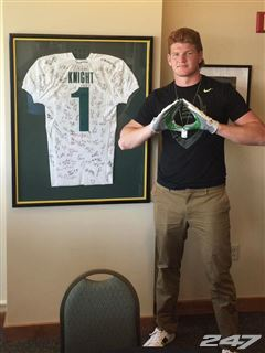 Most fans wanted the staff to land this tall, 4-star defensive end, Connor Murphy.
