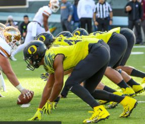 Oregon's defensive line also relies on youth.