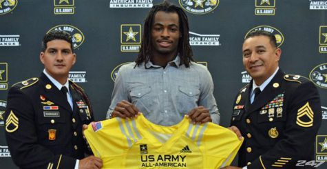 Najee Harris is committed to Alabama but a flip to Oregon may keep Gary Campbell from retiring.