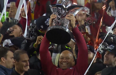 David Shaw has hoisted this trophy more than once, and probably will again
