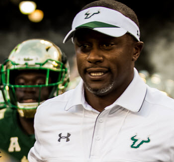 Willie Taggart of South Florida