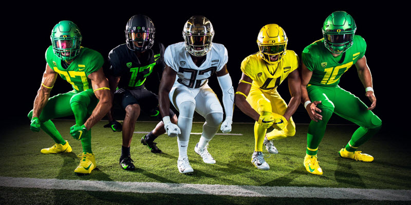 Oregons New Uniforms Best In A Generation