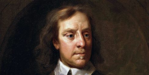 Painting of Oliver Cromwell.